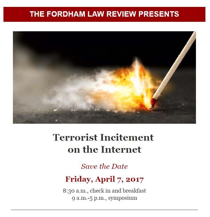 terrorism symposium invite